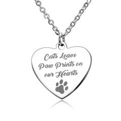 Stainless Steel Heart Pendant Jewelry Heart 1