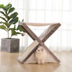 Cat Scratcher Claw Grinder Cat Scratcher Pet Cat Weight Loss Toy White