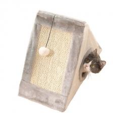 Triangular Cat Scratch Board Cat Nest Cat Type Cat Toy Gray