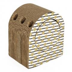 Corrugated Cat Scratcher Pet Cat Tunnel Toy PT17Y006M0