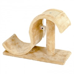 Cat Climbing Frame Sisal S-shaped Sleeping and Grinding Cat Claw Board S Shape