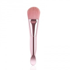 Soft Hair Double-headed Makeup Brush pink